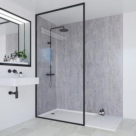 Multipanel Linda Barker Concrete Elements Bathroom Wall Panel