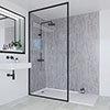 Multipanel Linda Barker Concrete Elements Bathroom Wall Panel profile small image view 1