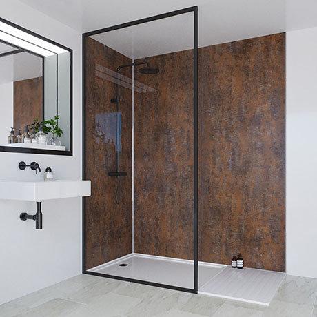 Multipanel Linda Barker Corten Elements Bathroom Wall Panel