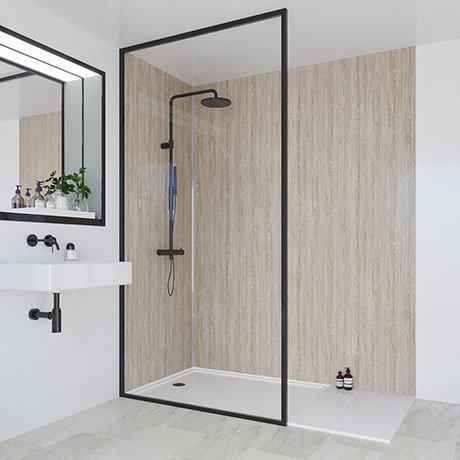 Multipanel Heritage Delano Oak Bathroom Wall Panel
