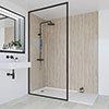 Multipanel Heritage Delano Oak Bathroom Wall Panel profile small image view 1