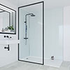 Multipanel Heritage Kew Gloss Bathroom Wall Panel profile small image view 1