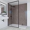 Multipanel Heritage Logan Oak Bathroom Wall Panel profile small image view 1