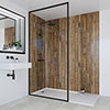 Multipanel Linda Barker Salvaged Plank Elm Bathroom Wall Panel profile small image view 1