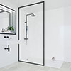 Multipanel Classic White Snow Bathroom Wall Panel profile small image view 1