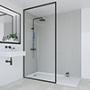 Multipanel Heritage Winchester Linewood Bathroom Wall Panel profile small image view 1
