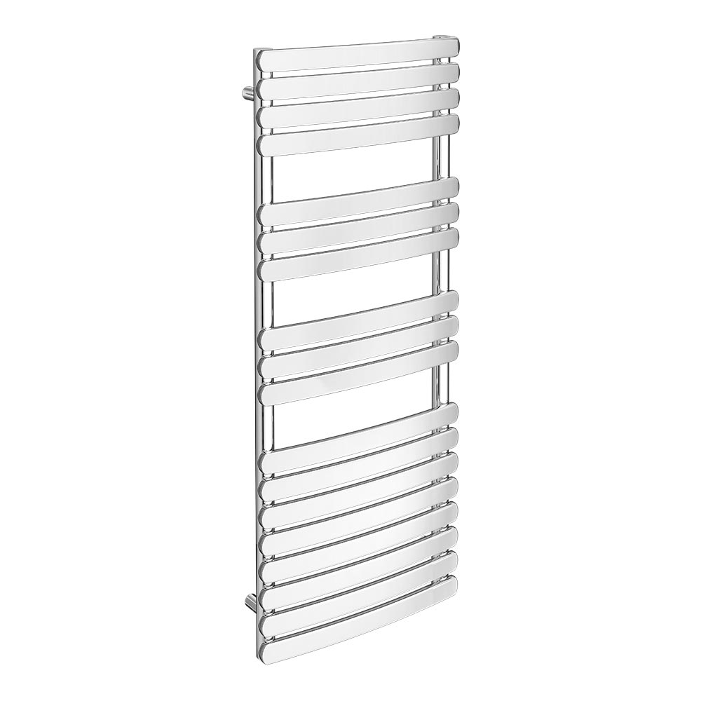 Murano Heated Towel Rail H1200mm x W490mm Chrome Large Image