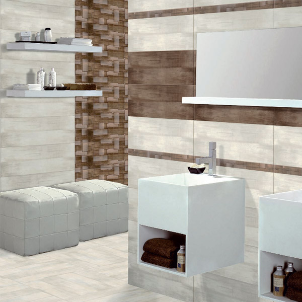 La Spezia Shine Marble Effect Dark Grey Wall Tiles - 25 x 70cm  Profile Large Image