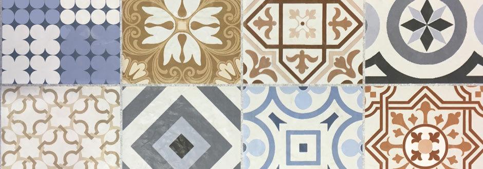 Murcia Encaustic Effect Tiles