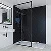 Multipanel Linda Barker Nero Grafite Bathroom Wall Panel profile small image view 1