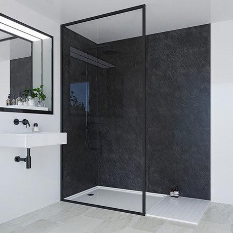 multipanel classic riven slate bathroom wall panel