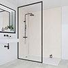 Multipanel Classic Warm Mica Bathroom Wall Panel profile small image view 1