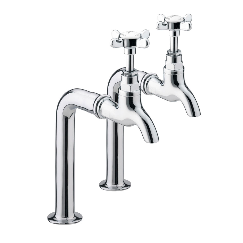 Bristan - 1901 Traditional Bib Taps and Upstands Large Image