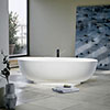 Clearwater Puro ClearStone Bath - 1700 x 750mm profile small image view 1
