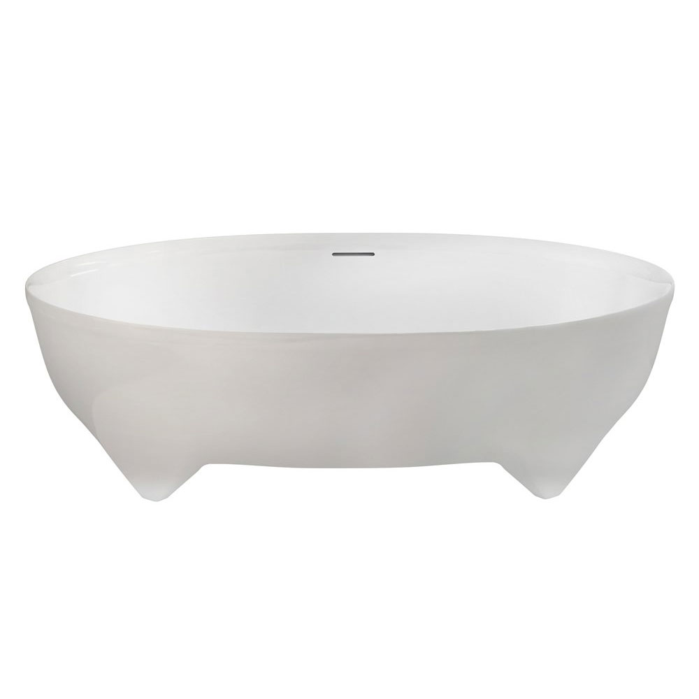 Clearwater - Vigore Natural Stone Bath - 1700 x 750mm - N17 Large Image