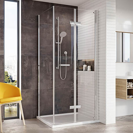 Roman Innov8 Bi-fold Corner Shower Door