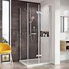 Roman Innov8 Bi-fold Corner Shower Door profile small image view 1