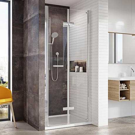 Roman Innov8 Bifold Alcove Shower Door
