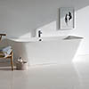 Clearwater Patinato Petite ClearStone Freestanding Bath 1524mm x 800mm - N3ACS profile small image view 1