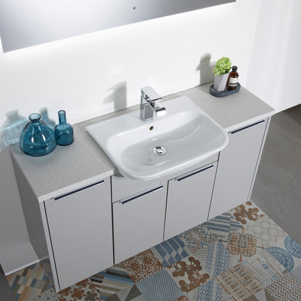 Roper Rhodes Note 560mm Semi-Countertop Basin - N3SCBAS profile large image view 2