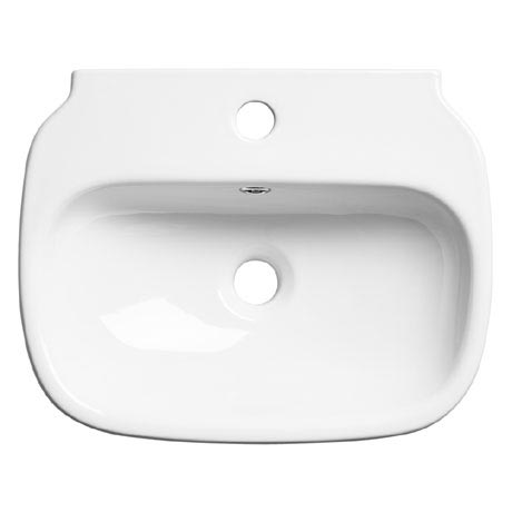 Roper Rhodes Note 450mm Wall Mounted or Countertop Basin - N45SB
