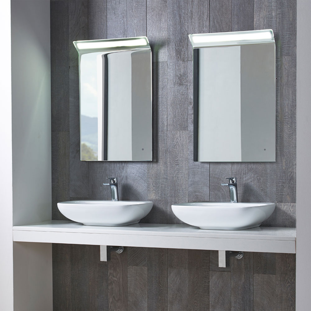 Roper Rhodes Note 550mm Wall Mounted or Countertop Basin - N55SB profile large image view 2