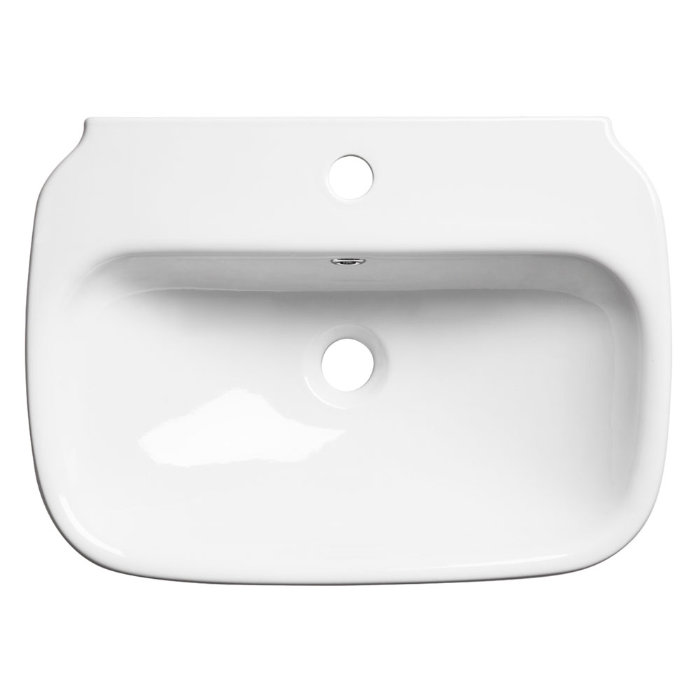 Roper Rhodes Note 550mm Wall Mounted or Countertop Basin - N55SB profile large image view 1
