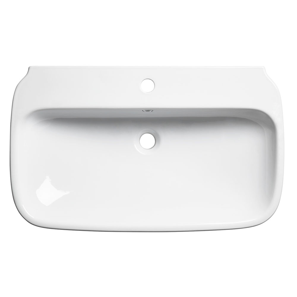 Roper Rhodes Note 750mm Wall Mounted or Countertop Basin - N75SB profile large image view 1