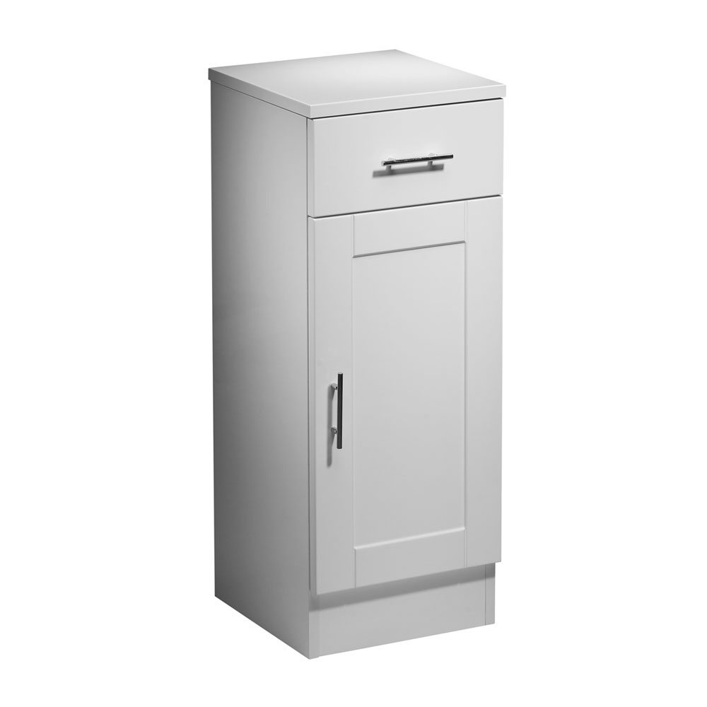 Roper Rhodes New England 300mm Bathroom Storage Cupboard with Chrome Handles Large Image