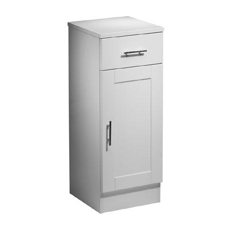 Roper Rhodes New England 300mm Bathroom Storage Cupboard with Chrome Handles