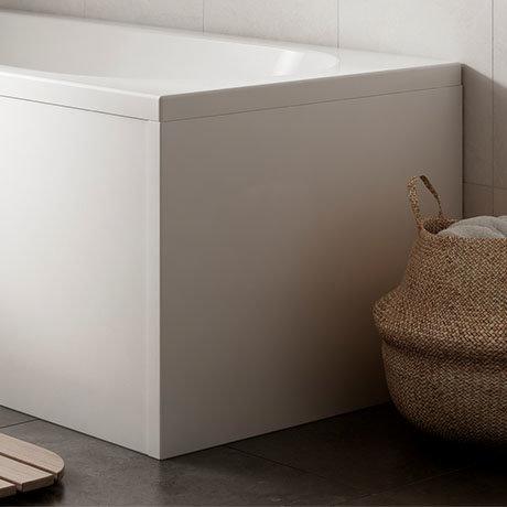 Acrylic End Panel for 1500 B Shaped Baths - NAP005A