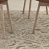Navaro Beige Patterned Floor Tiles - 450 x 450mm Small Image