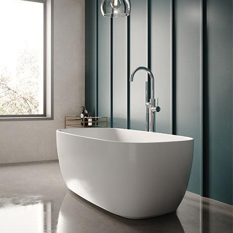 Hudson Reed Bella L1495 x W720mm Square Freestanding Bath - NBB003