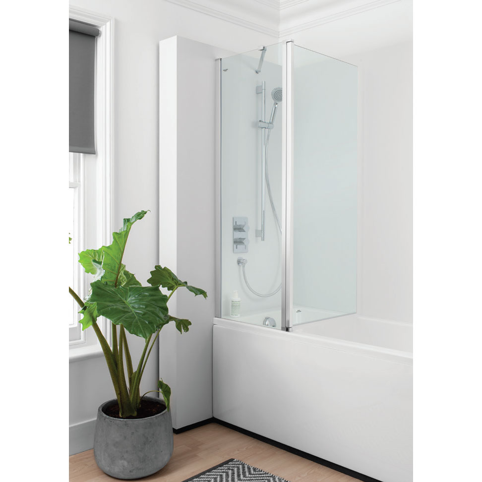 Simpsons - Click Double Bath Screen - 1150mm Feature Large Image