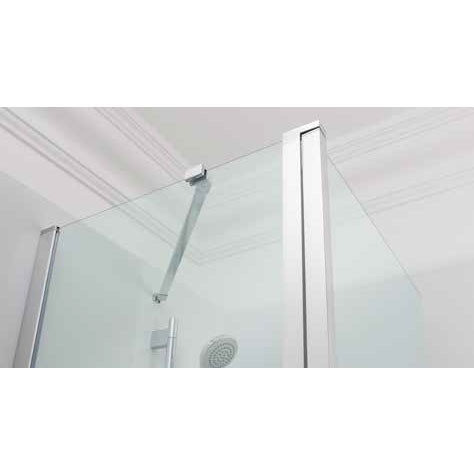 Simpsons - Click Double Bath Screen - 1150mm Profile Large Image
