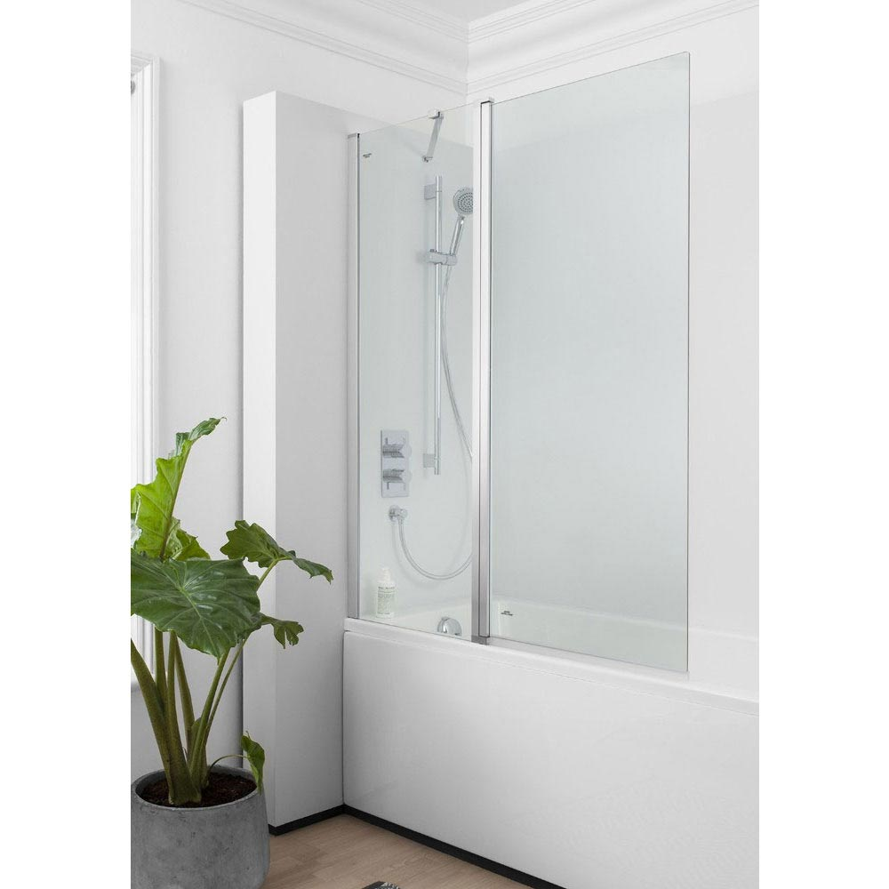Simpsons - Click Double Bath Screen - 1150mm Large Image