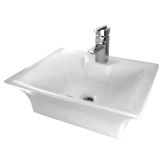 Rectangular Ceramic Counter Top Basin - NBV005 Large Image