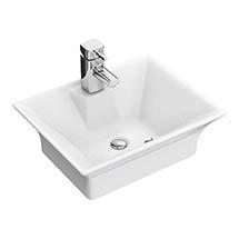 Rectangular Ceramic Counter Top Basin - NBV005 Medium Image