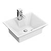 Rectangular 480 x 380mm Ceramic Counter Top Basin - NBV005 profile small image view 1