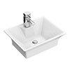 Rectangular 480 x 380mm Ceramic Counter Top Basin - NBV005 profile small image view 1