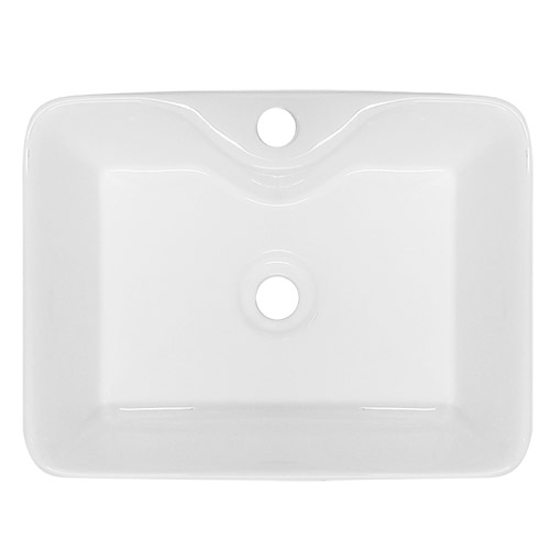 Premier - Tide 480 Square Ceramic Counter Top Basin - NBV119 profile large image view 3