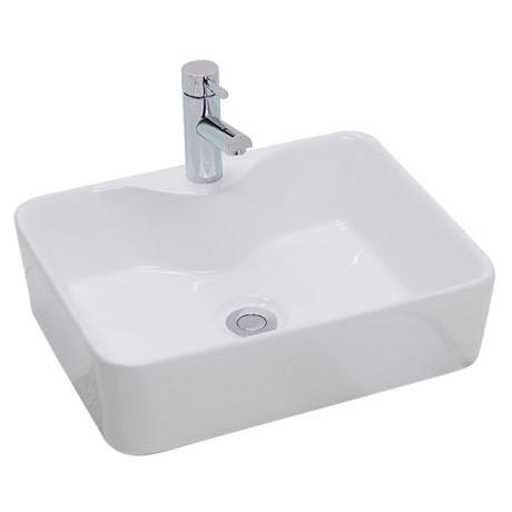 Premier - Tide 480 Square Ceramic Counter Top Basin - NBV119
