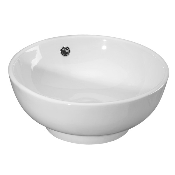 Premier - 420 Round Counter Top Vessel - 420 x 420 x 175mm - NBV124 Large Image