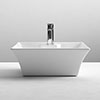Nuie Rectangular 480 x 380mm Ceramic Flared Counter Top Basin - NBV005 profile small image view 1
