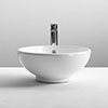 Nuie 410 Round Counter Top Vessel - NBV124 profile small image view 1
