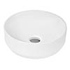 Hudson Reed Round Countertop Vessel Basin - NBV162 profile small image view 1