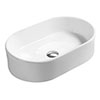 Hudson Reed Rounded 550mm Countertop Vessel Basin - NBV169 profile small image view 1