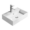 Hudson Reed Rectangular 500 x 350mm Countertop Vessel Basin - NBV178 profile small image view 1