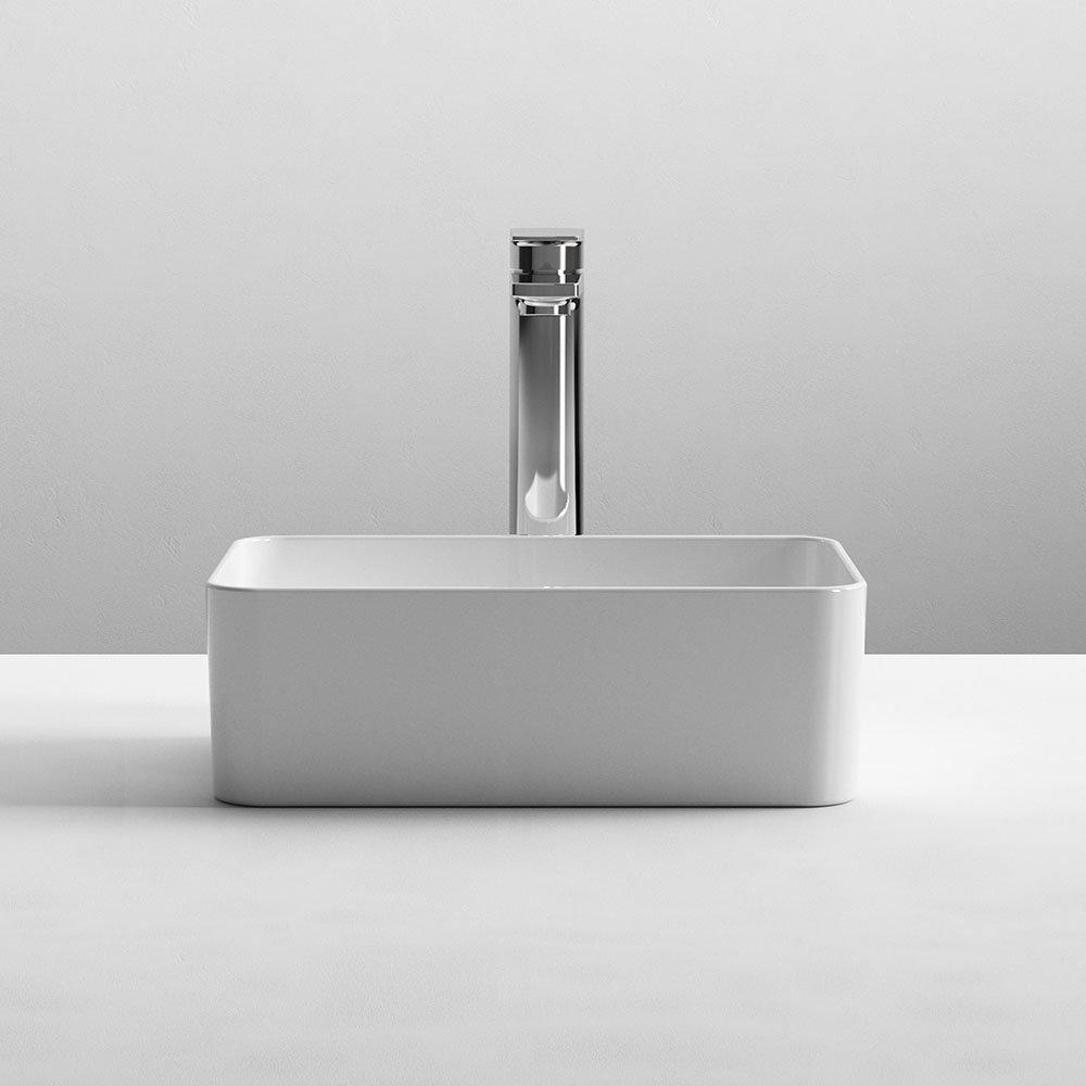 Nuie Rectangular 360 x 230mm Ceramic Counter Top Basin 0TH - NBV179
