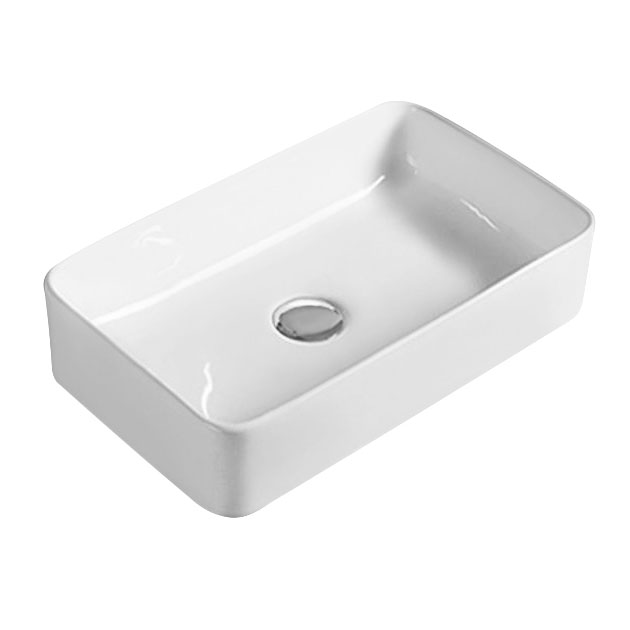 Hudson Reed Rectangular 465 x 235mm Countertop Vessel Basin - NBV180